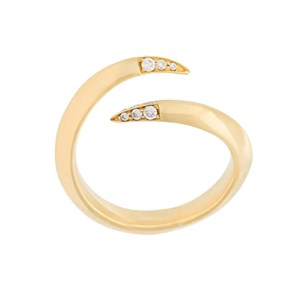 Shaun Leane Signature Tusk Diamond Open Ring