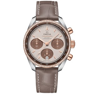 Omega Speedmaster 38mm Co-Axial Chronograph Ladies Watch