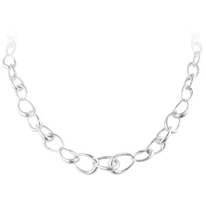 Georg Jensen Silver Offspring Chain Necklace