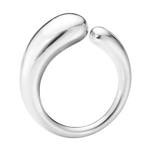 Georg Jensen Sterling Silver Mercy Ring Small