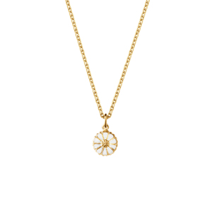 Georg Jensen Daisy Necklace with Pendant Small