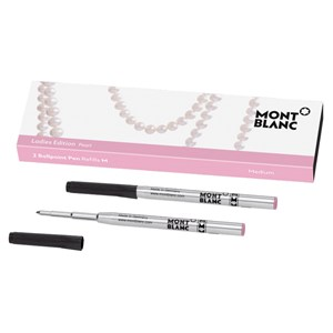Montblanc Pearl Ladies Edition Ballpoint Pen Refills (M) Pack of 2