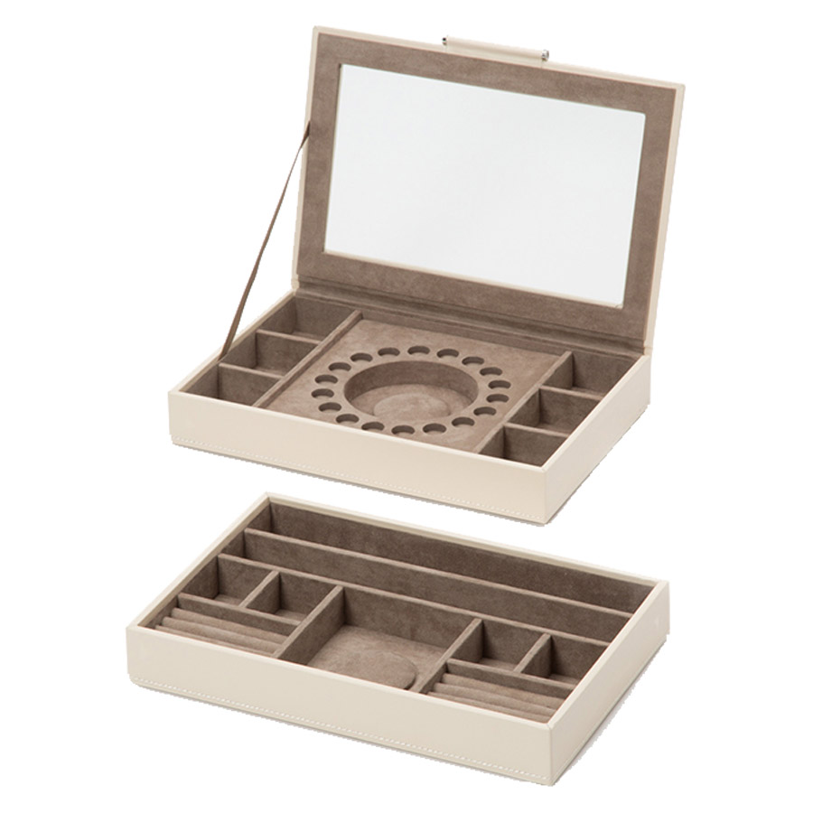 Wolf Mink Sophia Stackable Trays