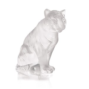 Lalique Tiger Sculpture 10058000