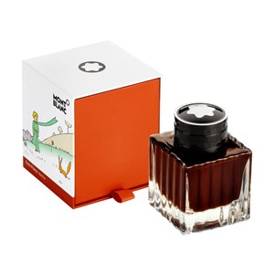 Montblanc Le Petit Prince Red Fox Orange Ink Bottle