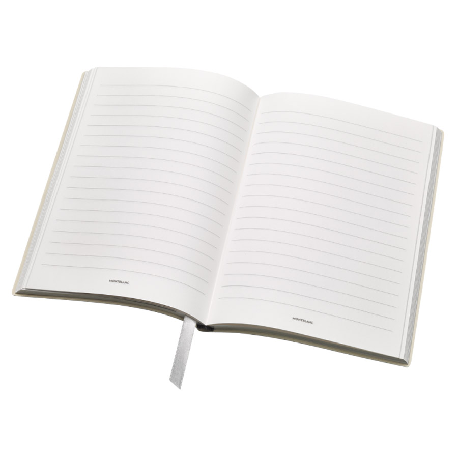 Montblanc Fine Stationery Lined Notebook 146 Ladies Edition Pearl White