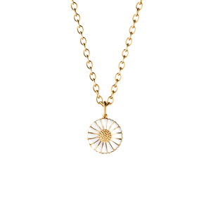 Georg Jensen Daisy Necklace with Pendant Large