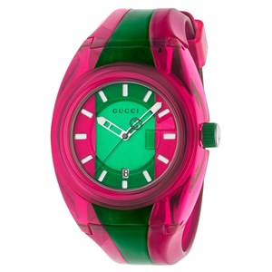 Gucci Sync Pink & Green Watch