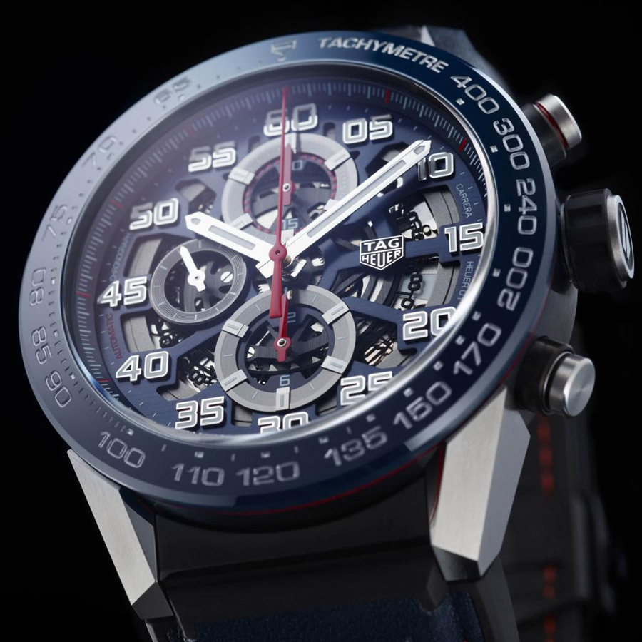 TAG Heuer Carrera Calibre Heuer 01 Red Bull Racing Special Edition