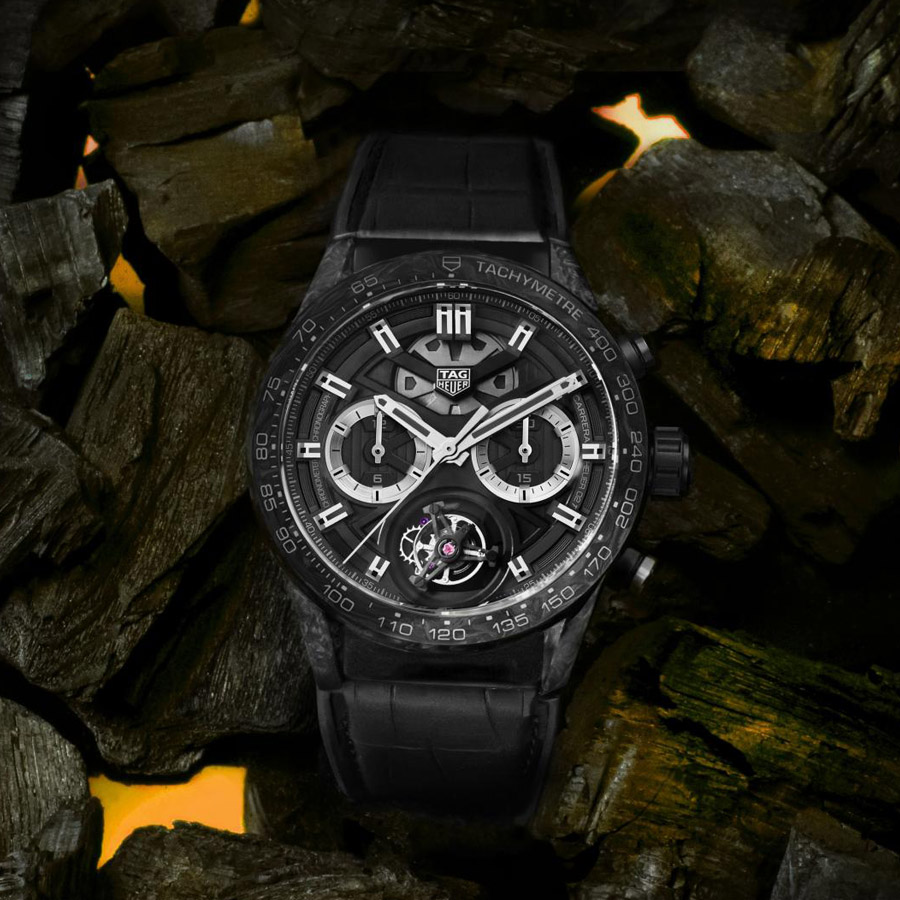 TAG Heuer Carrera Calibre Heuer 02T Carbon Collection