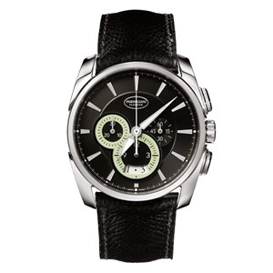 Parmigiani Fleurier Tonda Metrographe Steel Black Super-Luminova Watch