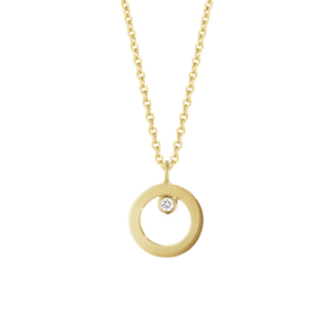 GEORG JENSEN HALO NECKLACE WITH PENDANT