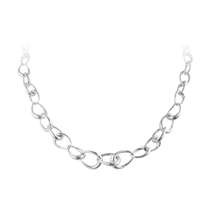 GEORG JENSEN OFFSPRING GRADUATED NECKLACE