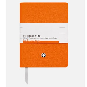 Montblanc Fine Stationary NoteBook #145 Lucky Orange 116226