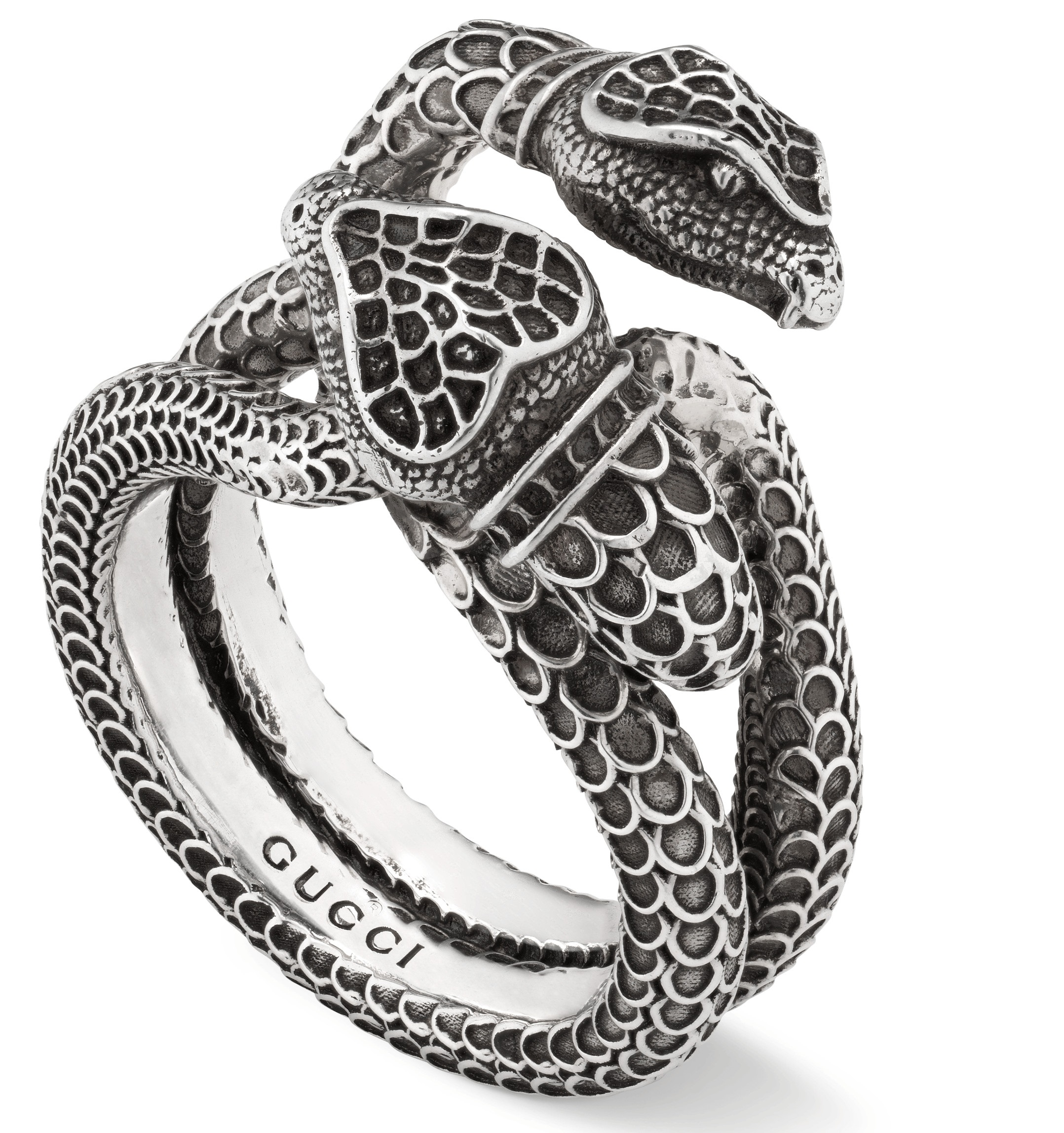 98192cf10 Gucci Garden Snakes Ring YBC525174001 - YBC525174001 - Beards