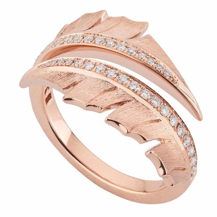 Stephen Wesbster Rose Gold Pave Ring WR1056 RG SD XXX