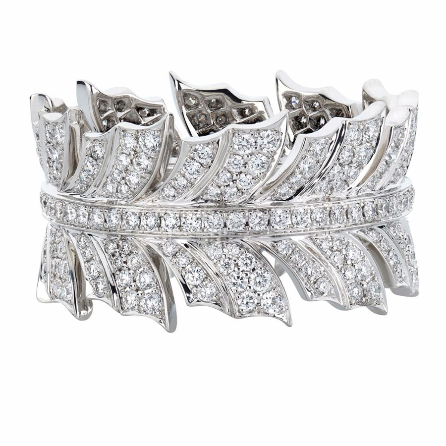 Stehen Webster Pave Set Ring WR1055 WG WD XXX