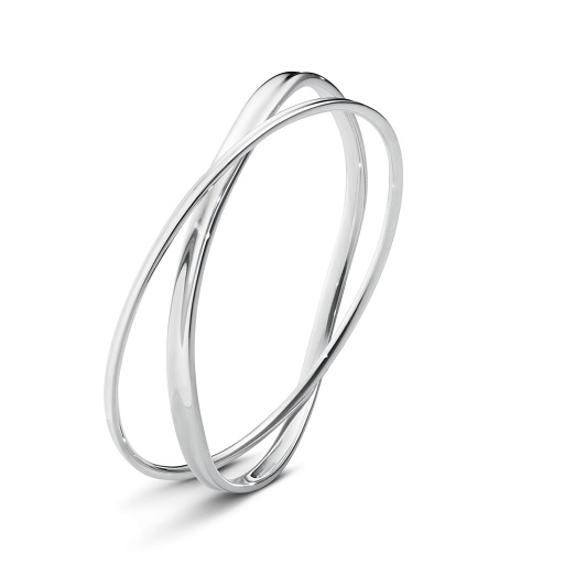 Georg Jensen Marcia Bangle Sterling Silver 3531311