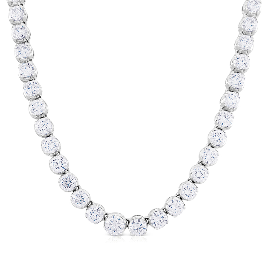 fine cheap diamond jewelry product bubble jhanna necklace