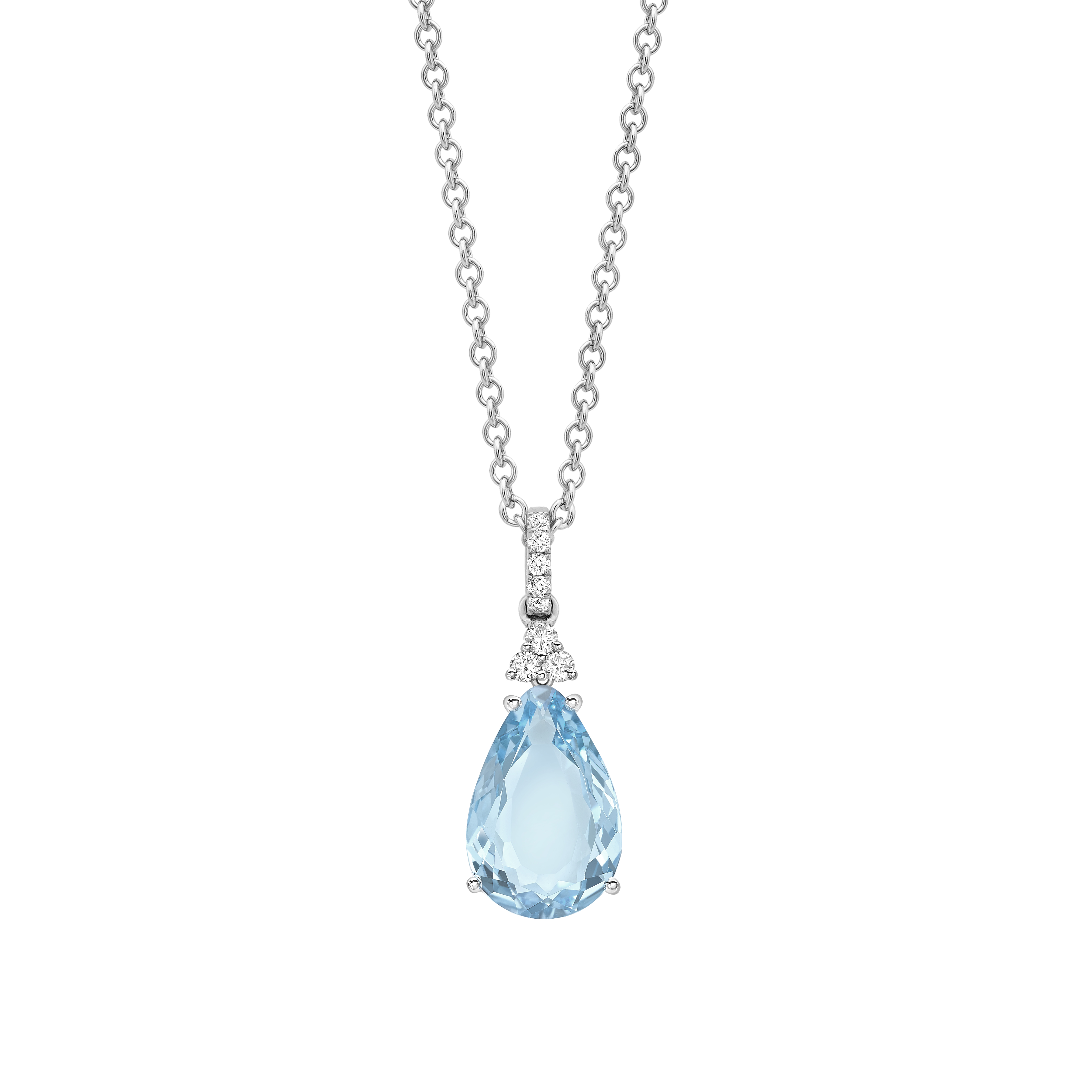 Kiki Blue Topaz Mini Candy Pendant