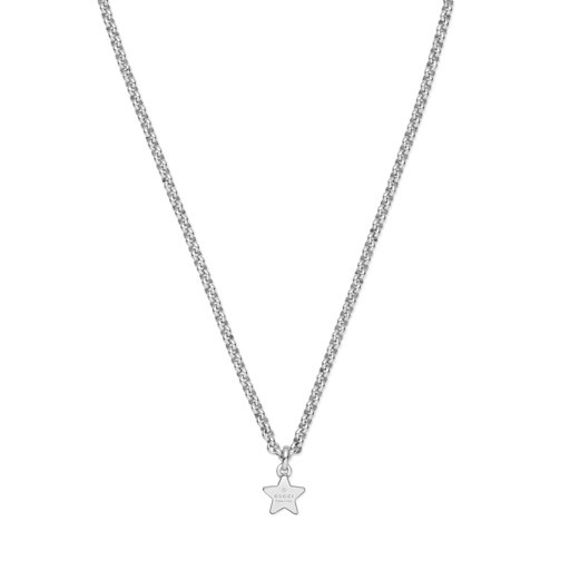 Gucci Silver Trademark Necklace YBB356223001