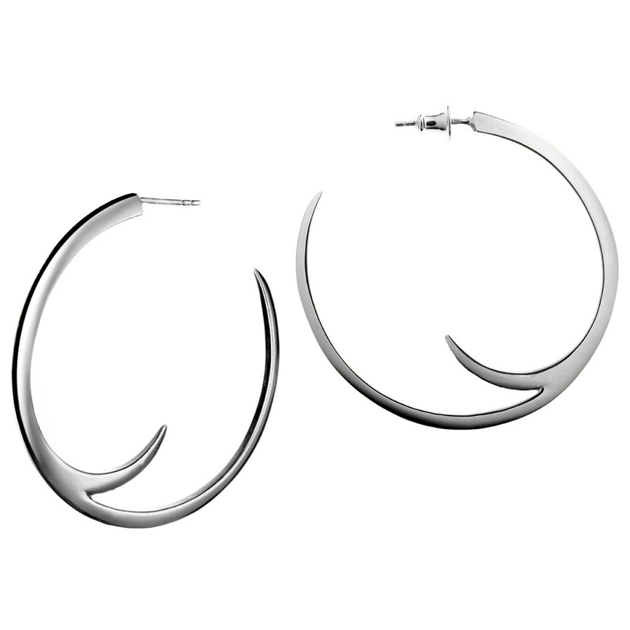 Shaun Lean Tusk Hoop Earrings