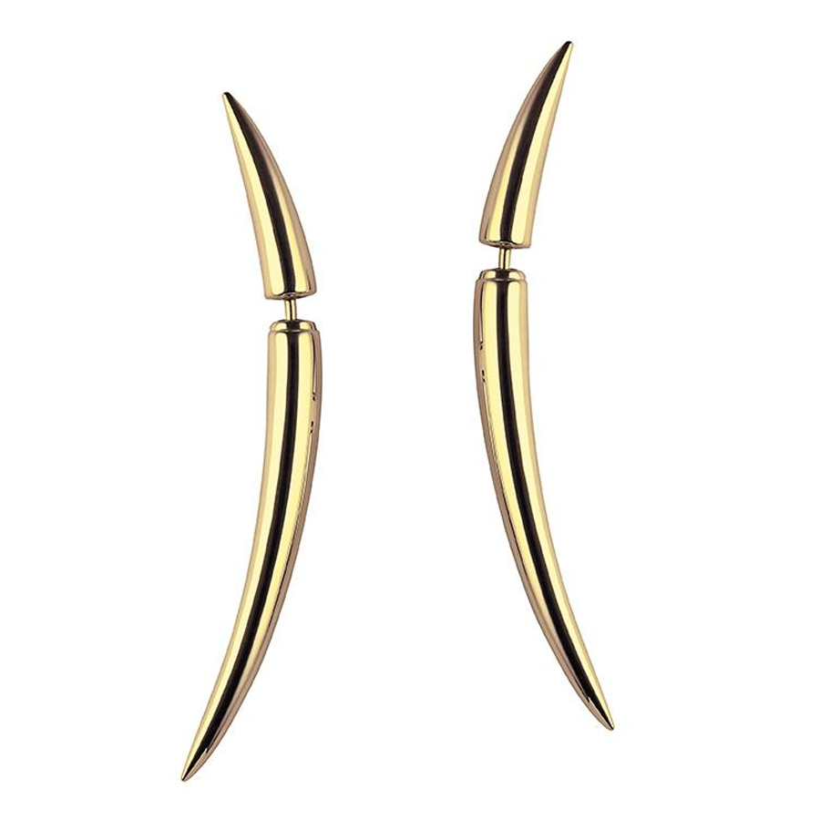 Shaun Leane Quill Earrings
