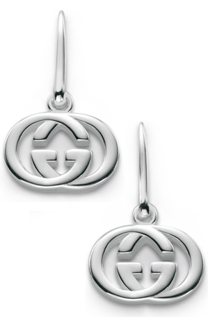 Gucci Silver Britt Collection Earrings
