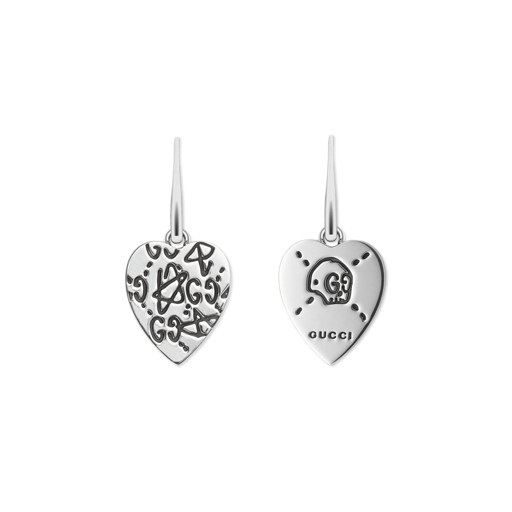 Gucci Ghost Silver Earrings YBD457231001