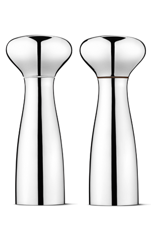 Georg Jensen Alfredo Salt and Pepper Mills