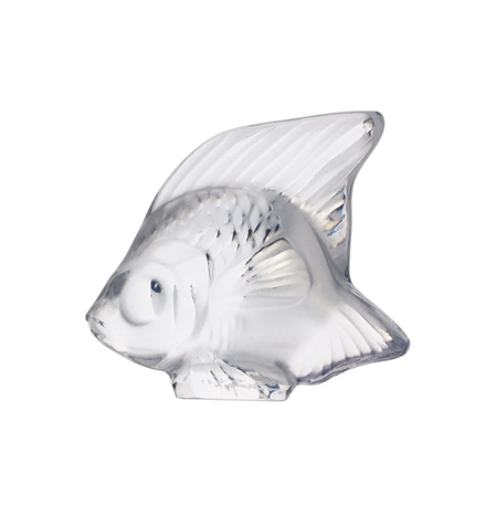 Lalique Clear Fish Sculpture 3000000