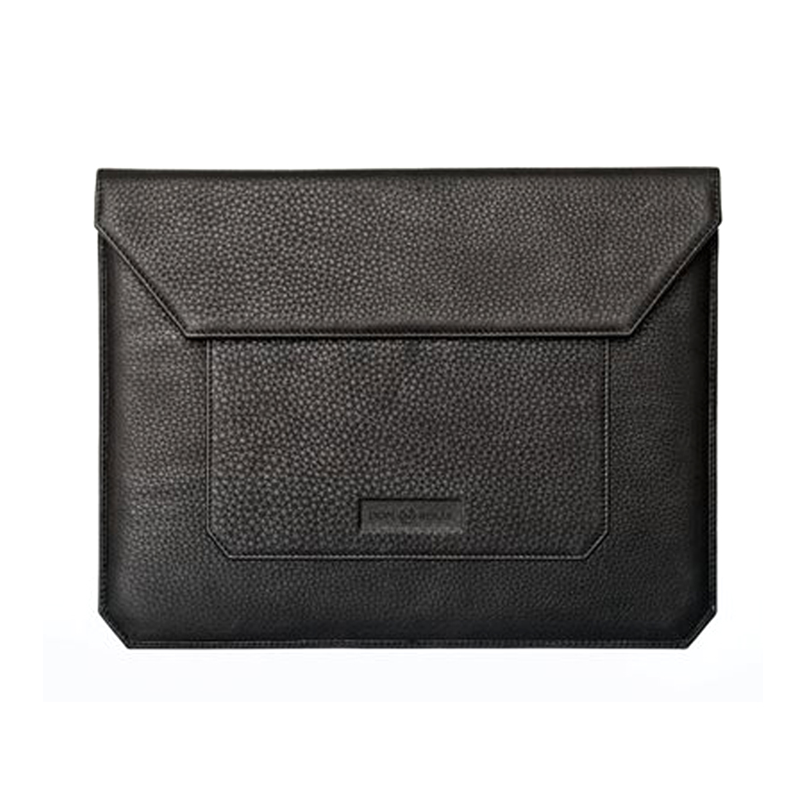 Dom Reilly Black Leather iPad Case