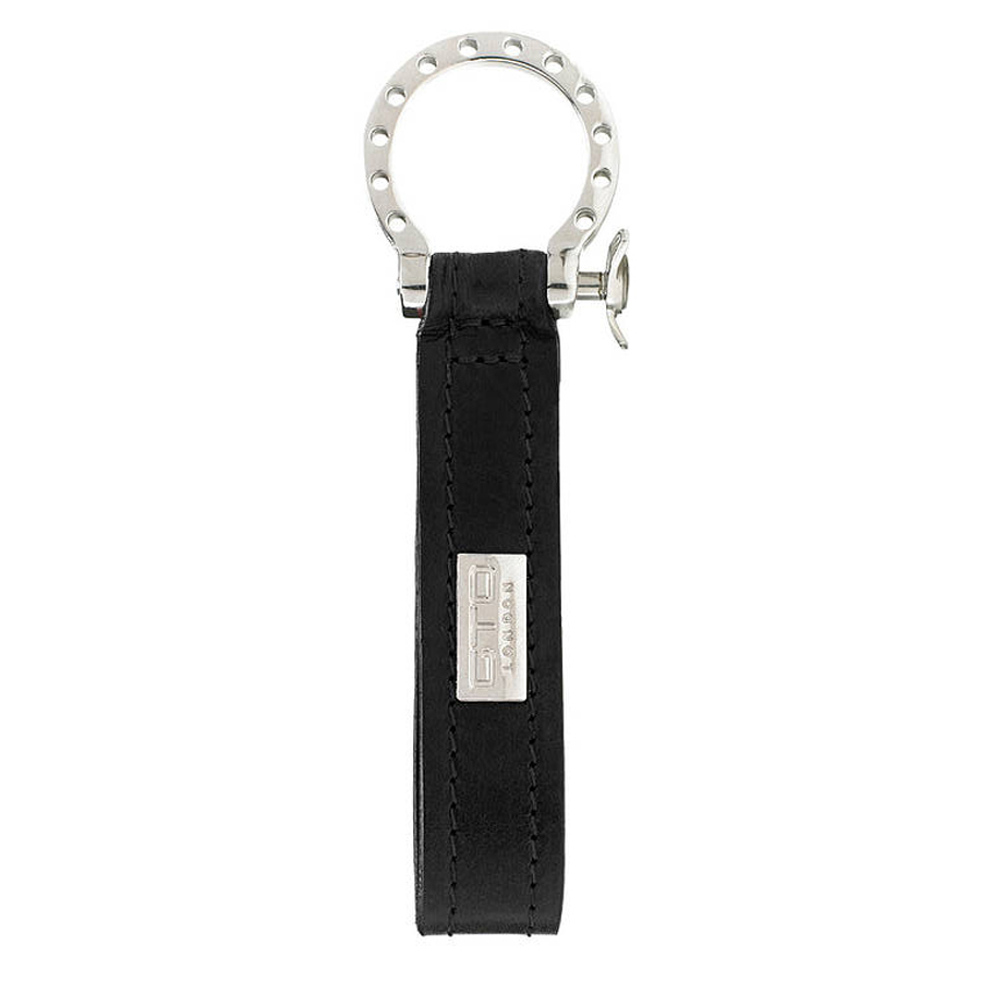 GTO London black Leather Key Fob GL41-1