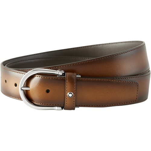 Montblanc Brown Leather Belt, 116692