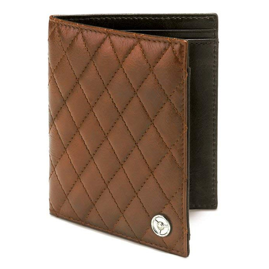 GTO London 250 GTO Tan Credit Card Wallet GL212-2