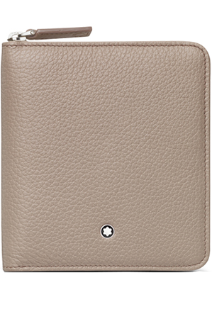 Montblanc Softgrain Beige Leather Wallet 111217