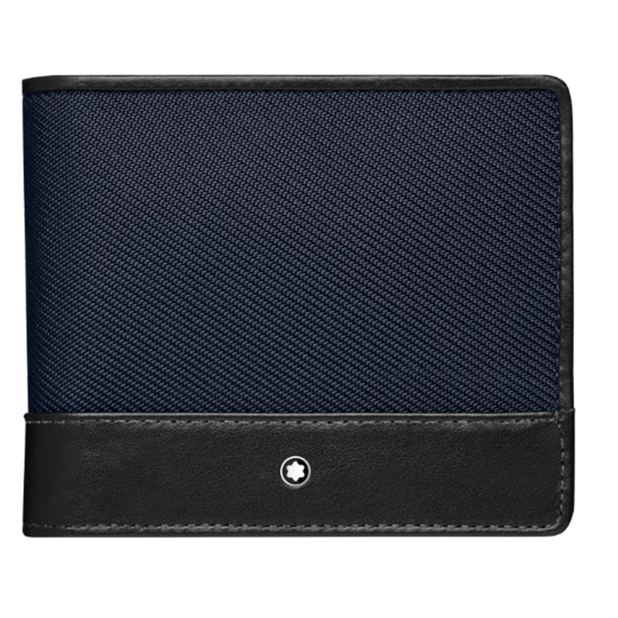 Montblanc Nightflight Wallet 4CC with Coin Case 116835