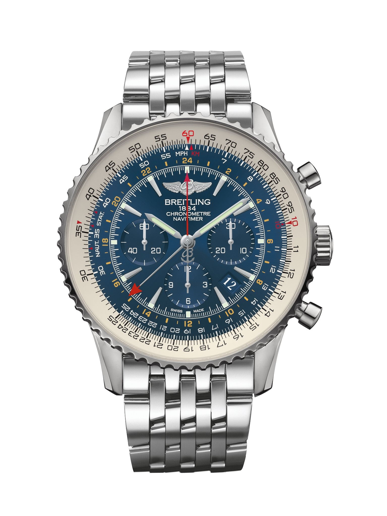Breitling Navitimer GMT AB04411A/C937/443A