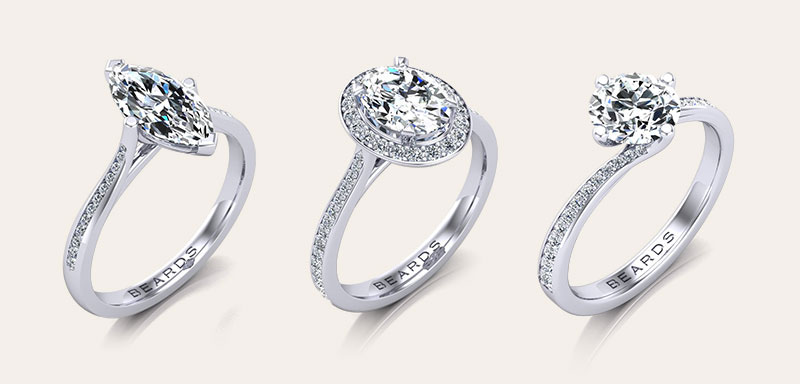 Fine Diamond Engagement Rings